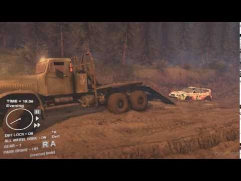 spin tires 2013 kraz to the rescue
