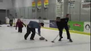 Curling Fun at the Stephen C. West Ice Arena