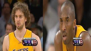 Kobe Bryant & Pau Gasol Full Highlights vs Jazz 2009 WCR1 GM2 - 48 Pts Combined