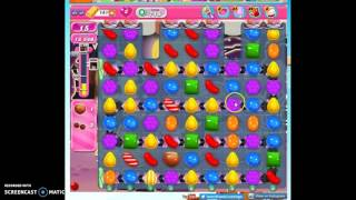 Candy Crush level 715 help w/audio tips, hints, tricks
