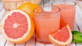 Grapefruit Diet - Drink A Glass Of Grapefruit Juice Every Morning, THIS Will Happen To Your Body!