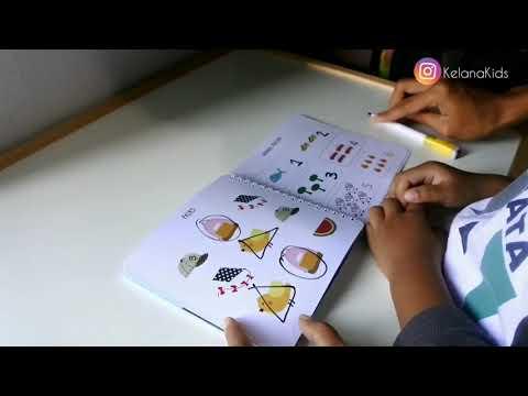 Yuk intip isinya Kelana Kids Busy Books, Basic Learn vol. 1