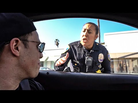 when-cops-pull-over-cops!-*fake-beverly-hills-cop-car*