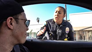 Download WHEN COPS PULL OVER COPS! *FAKE BEVERLY HILLS COP CAR* Mp3 and Videos