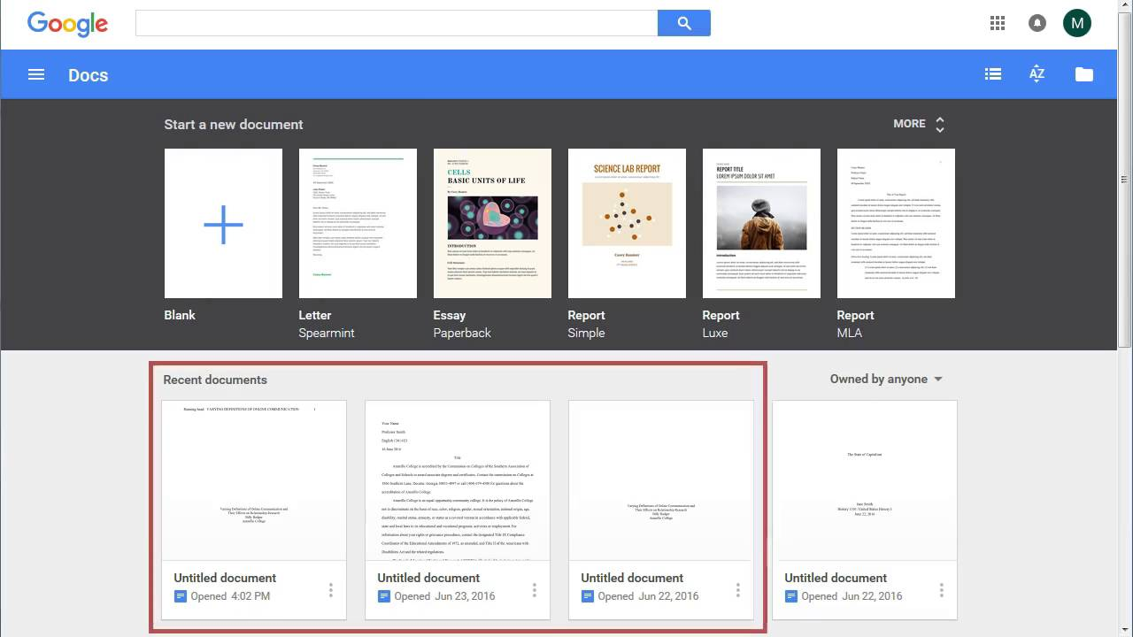formatting an apa paper in google docs part 1 youtube