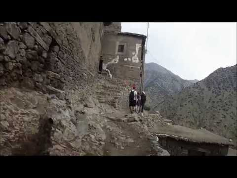 Aldea de Tizi Oussem. Valle Azzadene (Marruecos)