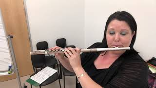 A Whole New World from Aladdin (solo flute)