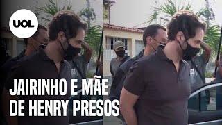 Caso Henry: Polícia prende vereador  Dr. Jairinho e Monique, mãe do menino, um mês após a morte