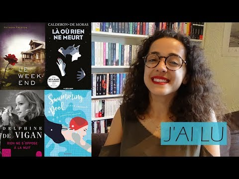 J'AI LU | Swimming pool • Là où rien ne meurt • Le week-end