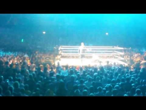 Tony chimel stone cold stunner on curtis axel  butlins  minehead 2013