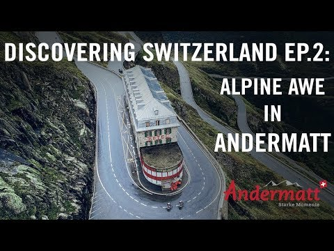 Alpine Awe: Cycling In Andermatt | Discovering Switzerland Ep.2