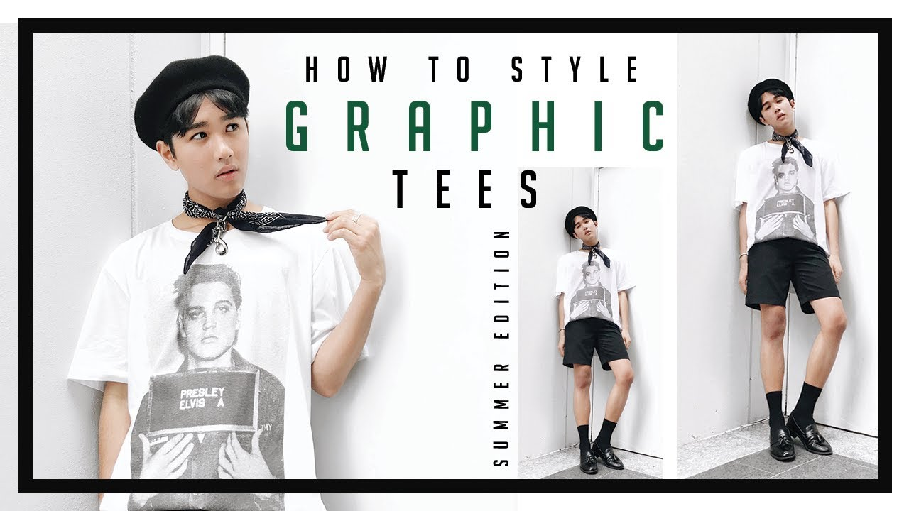 [VIDEO] - How To Style: GRAPHIC TEES | Summer Lookbook 2018 | Men's Fashion 8