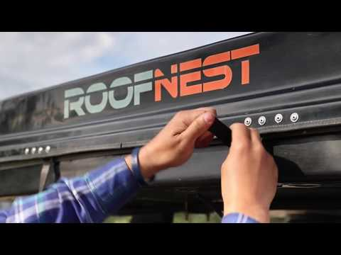 Stowing a Roofnest Eagle RTT