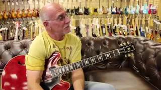 Mr. 335 Larry Carlton playing a 1962 Gibson ES-335 at Norman's Rare Guitars