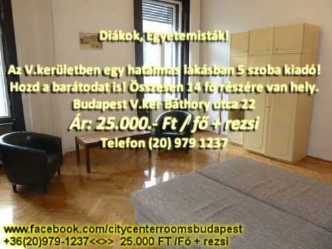 CITY CENTER ROOMS BUDAPEST (MAGYAR)