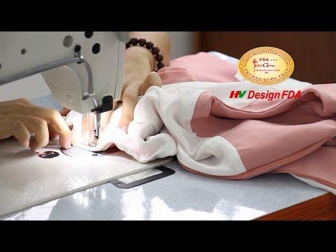 Video học cắt may áo kiểu nữ thời trang