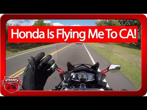 Honda Is Flying Me To California To Review Motorcycles