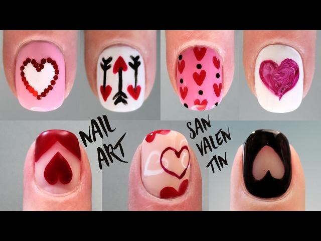 Uñas Para San Valentin 40 Diseños Con Corazones Y De Amor
