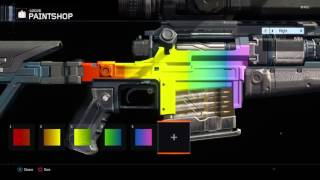BO3 How To Fade Colors In The Paintshop