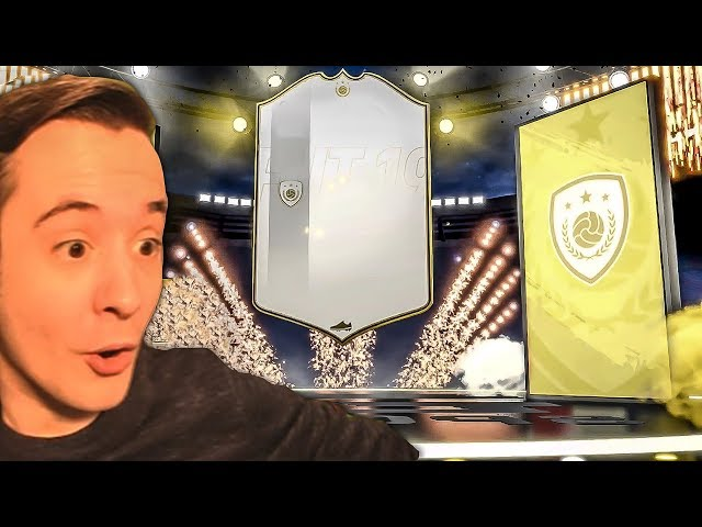 I PACKED ANOTHER ICON WHAT IS GOING ON!!! - FIFA 19 ULTIMATE TEAM PACK OPENING