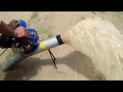 How To Make Water Pump 5 Inches Engine 5 Inch Delivery Farmer Machine Diy Experiment