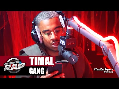 Youtube: Timal « Gang » #PlanèteRap