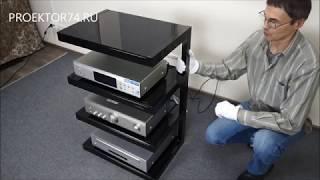 Обзор стойки для AV техники NorStone Esse Hifi Black