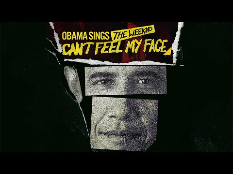 Barack Obama Singing Can't Feel My Face by The Weeknd