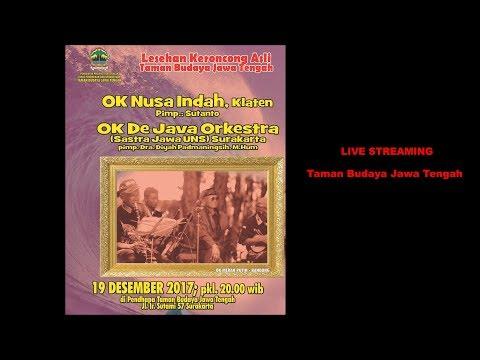 LESEHAN KERONCONG ASLI || des'2017  ||Live Streaming Pendopo Taman Budaya Jawa Tengah