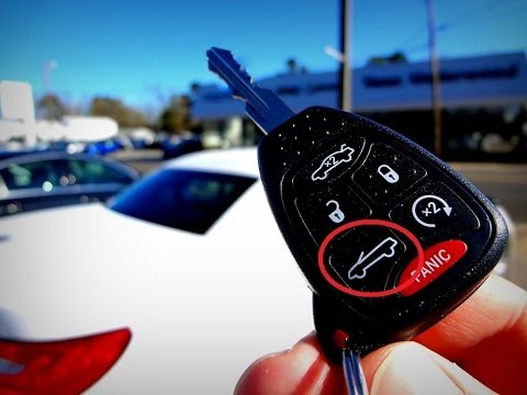 How to Lower Convertible Top Using Key Fob Chrysler 200