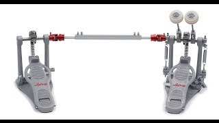 ludwig atlas bass drum pedals unboxing review test