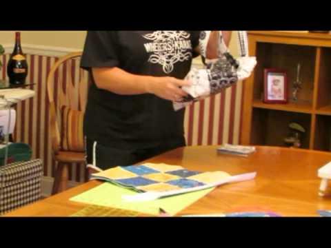 How To Make A Quilt Tote Purse/handbag Tutorial