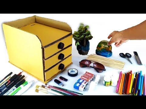 How to make Desk Organizer set