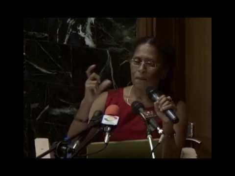 Professor Patricia McFadden on African Feminism. An IDEG Presentation.