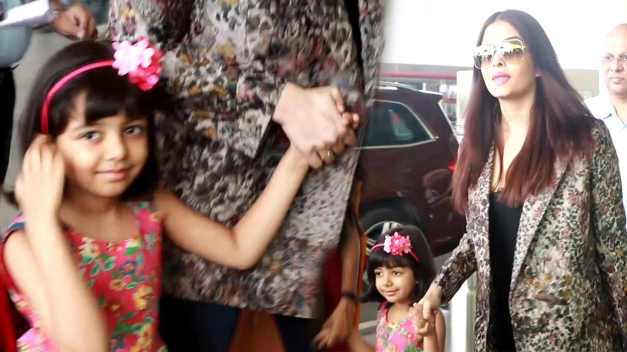 Bachchan rai Aishwarya with daughter aaradhya