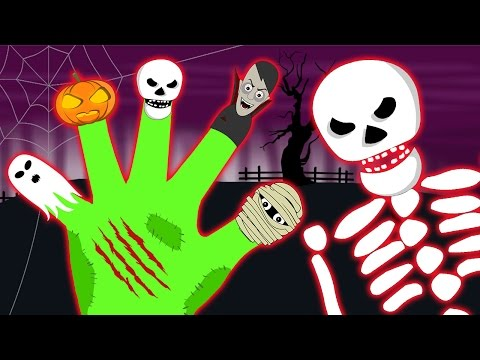 Halloween Special Finger Family Part by HooplaKidz Toons