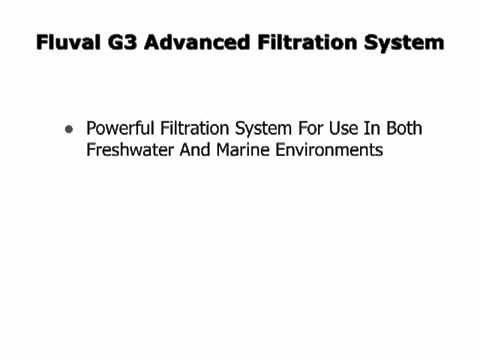 Aquarium Filter Reviews Fluval G3 And G6 Canister Filter