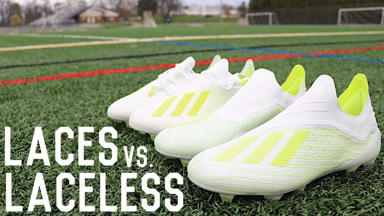 Laces Vs Laceless Football Boots | Which Should You Choose? X18+ & X18.1 Play Test and Review