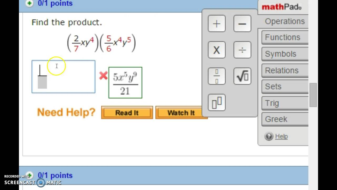 Question  Is anyone familar with webassign  I enter these answers and I  don t know it s wrong