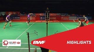PERODUA Malaysia Masters 2019   XD - SF - HIGHLIGHTS   BWF 2019