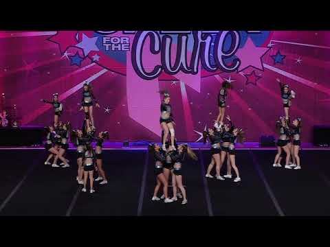 Black Widow Cheer Gym Passion Senior   Small Combined 4 2YT