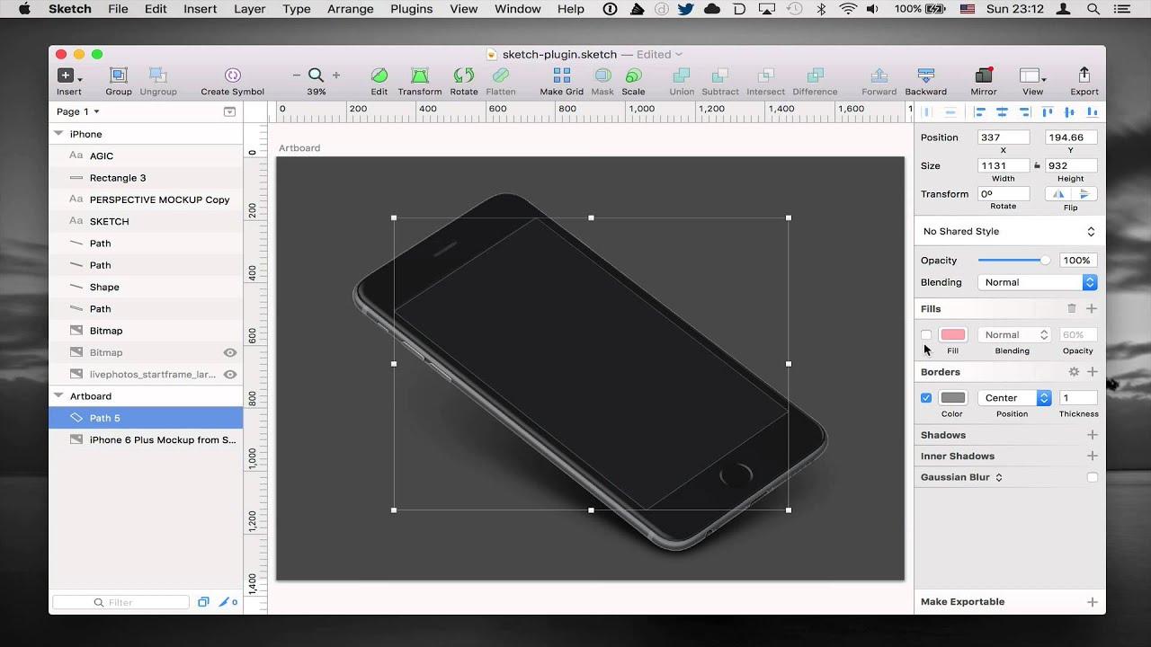 Magic Mirror for Sketch Plugin - Quick Demo
