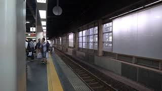 特急しらさぎ12号(12M)米原・名古屋行金沢駅入線