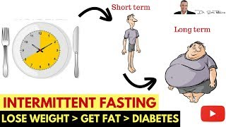 🍽️ Intermittent Fasting - Lose Weight, Get Fat & Become Diabetic