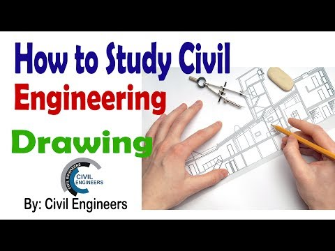 How to Study Civil Engineering Drawing