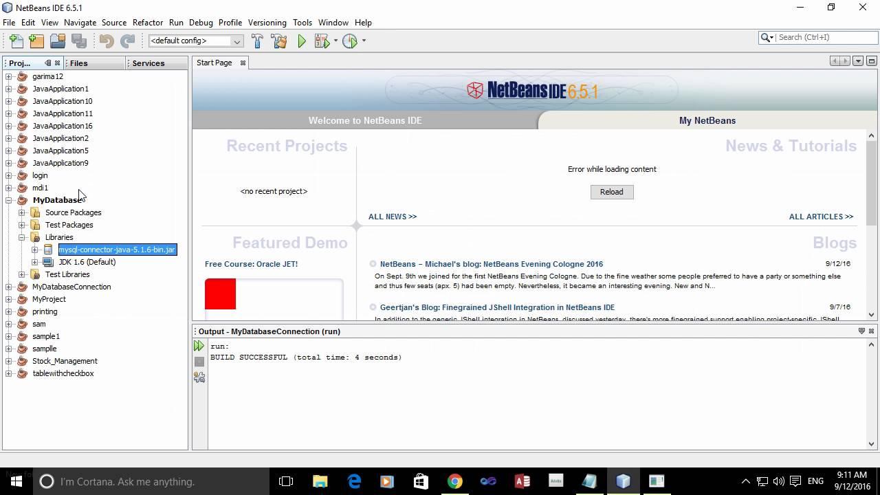netbeans 6.5.1