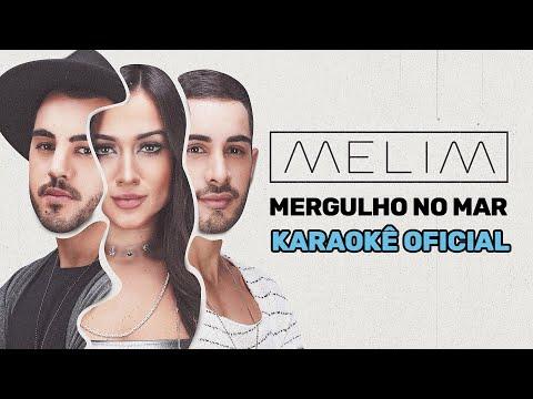 Mergulho No Mar (Karaokê Oficial) | Melim