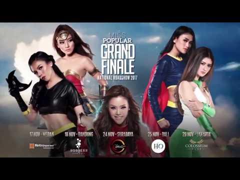Grand Final Miss Popular 2017  | Adu Kuncian Brazilian Jiu Jitsu