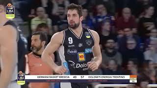 HL Serie A 21 giornata - Germani Basket Brescia vs. Dolomiti Energia Trentino 79-84 (10.03.19)