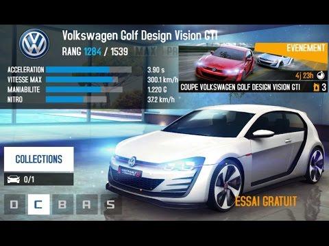 Asphalt 8 NEW Golf Design Vision GTI Great Wall